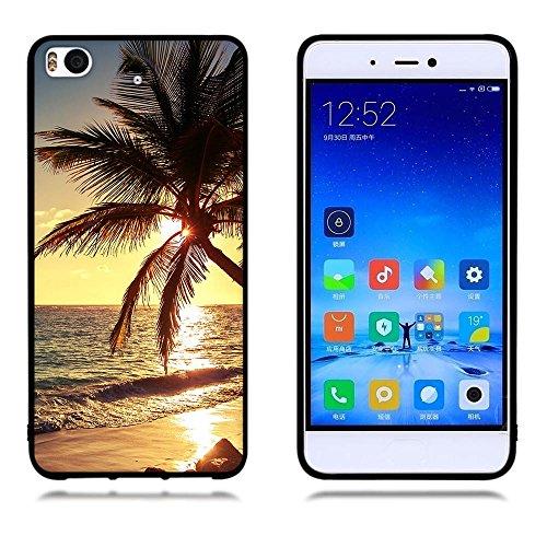 Funda Xiaomi Mi 5s, FUBAODA [Flor rosa] caja del teléfono elegancia contemporánea que la manera 3D de diseño creativo de cuerpo completo protector Diseño Mate TPU cubierta del caucho de silicona suave pic: 17