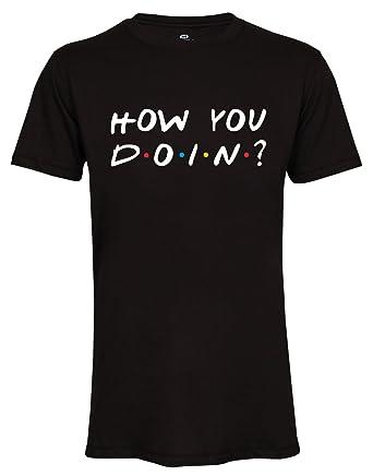 4fb8785d48e59 Wearuz Friends TV Show How You Doin Joey Men Unisex T-Shirt