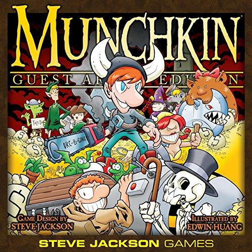 Steve Jackson Games Munchkin Guest Artist Edition Card Game - Edwin Huang