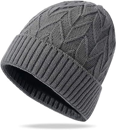 Femmes Tricot Slouch Hiver chaud Cozy Fashion Filles Beret Beanie Ski Chapeau Bonnet