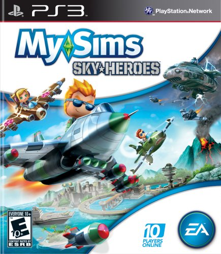 MySims Sky Heroes - Playstation 3 (Ps3 Sims)
