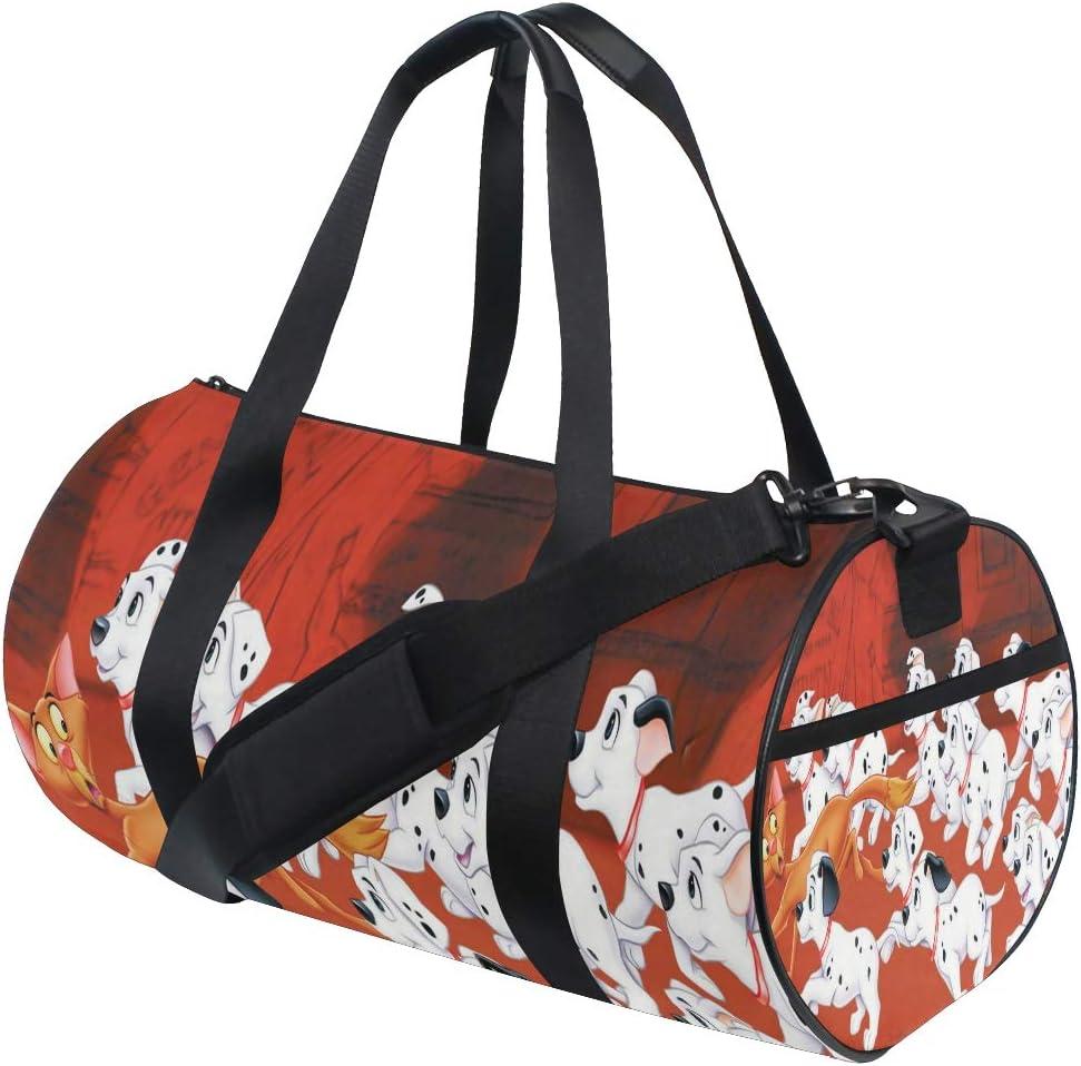 Duffel Bag Very Puppy And Fox Women Garment Gym Tote Bag Best Sports Bag for Boys