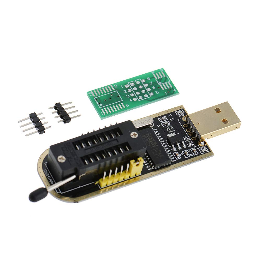 Anmbest CH341A USB Programmer 24 25 Series Chip BIOS Flash Burner CH341A  USB Programmer 24 25 Series Chip BIOS Flash Burner for PC Motherboard  Router
