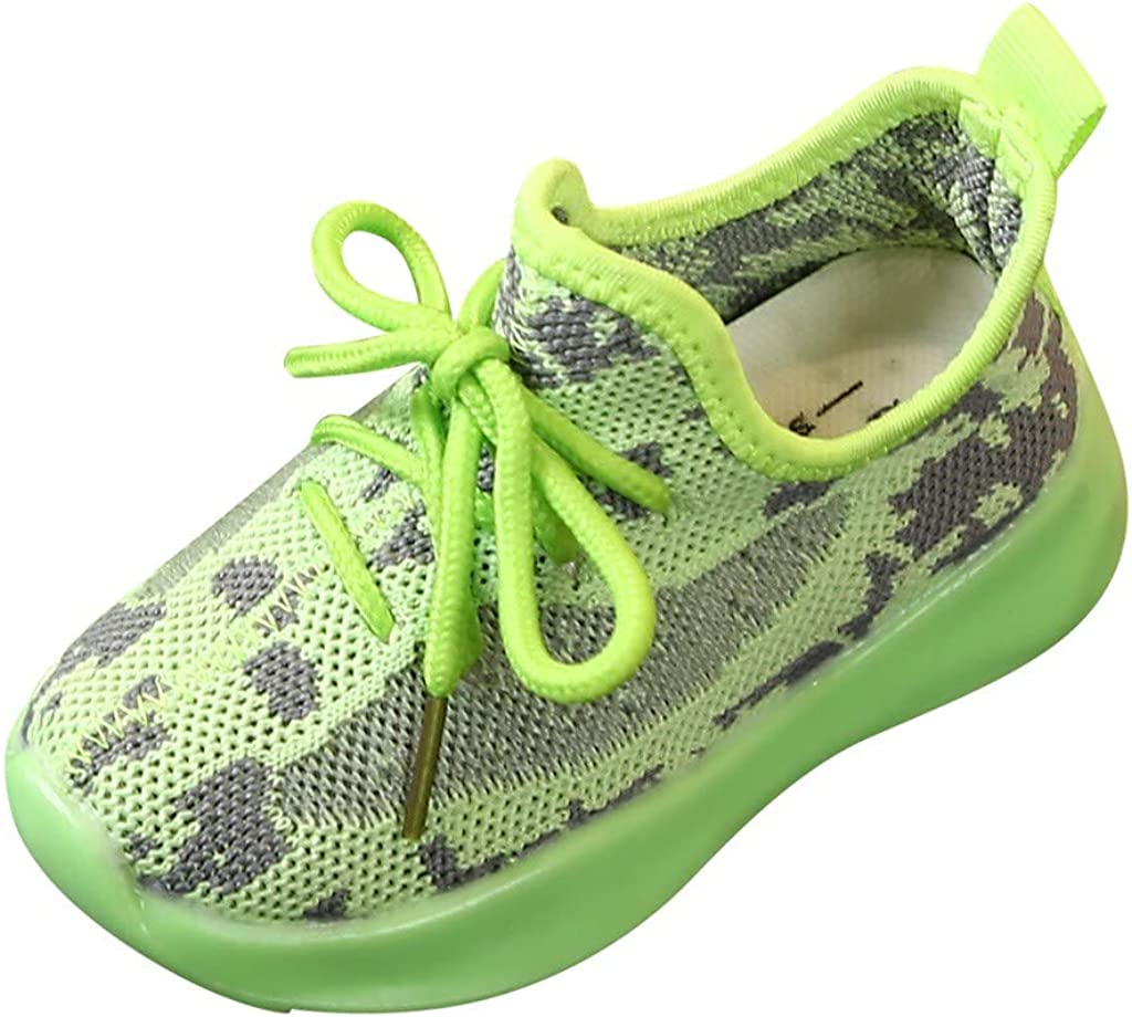 Toddler Infant Non-Slip Soft Sole Casual Shoes Boots Outdoor Sneakers Casual Shoes Green Baby Boys Girls Shoes
