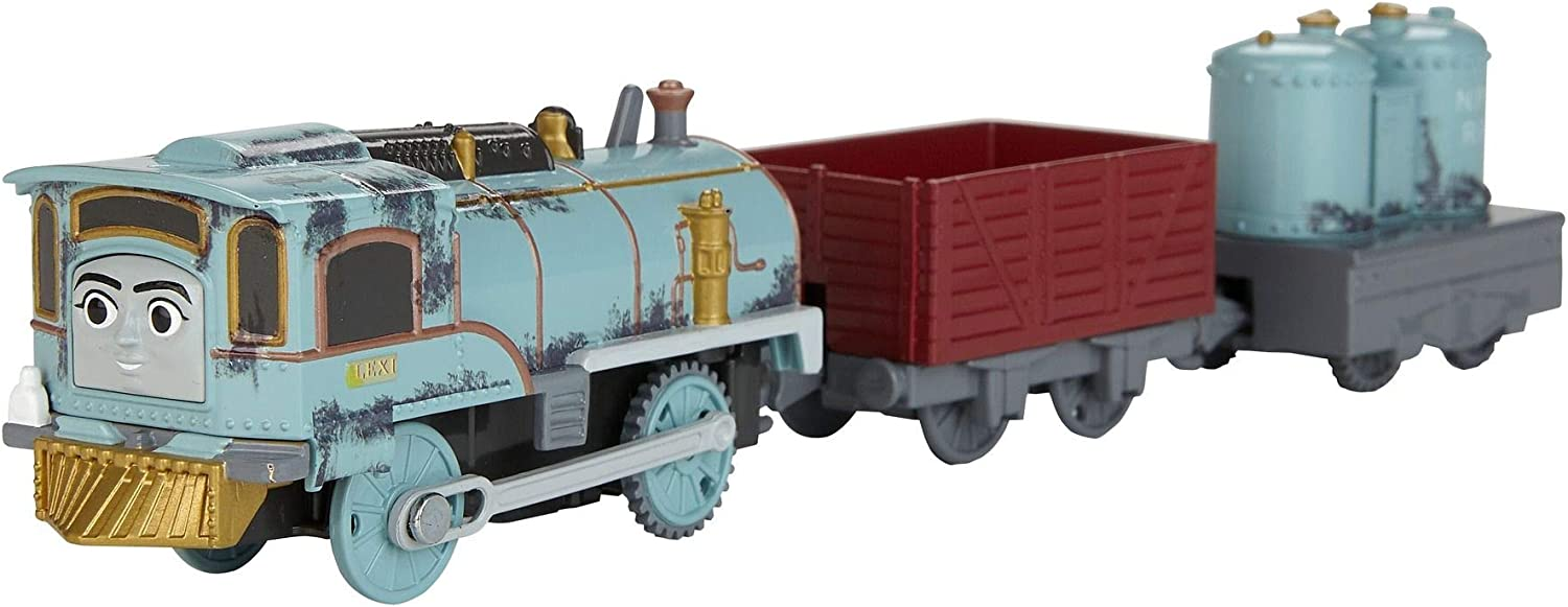 Thomas and Friends Tren de Juguete de la Locomotora Lexi The Experimental Engine, Juguetes Niños 3 Años (Mattel FJK52)