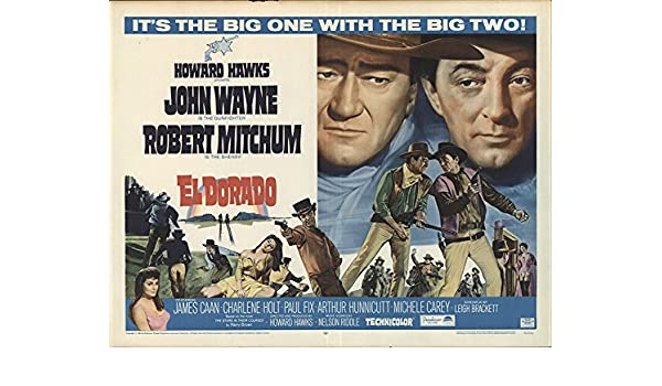 El Dorado 1966 Authentic 22 X 28 Original Movie Poster