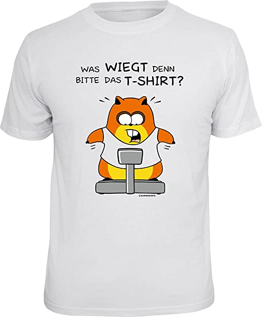 Lustiges Spruche Shirt Geschenkartikel T Shirt Mit Urkunde Was Wiegt Denn Bitte Das T Shirt Fun Artikel Partygeschenk Amazon De Bekleidung