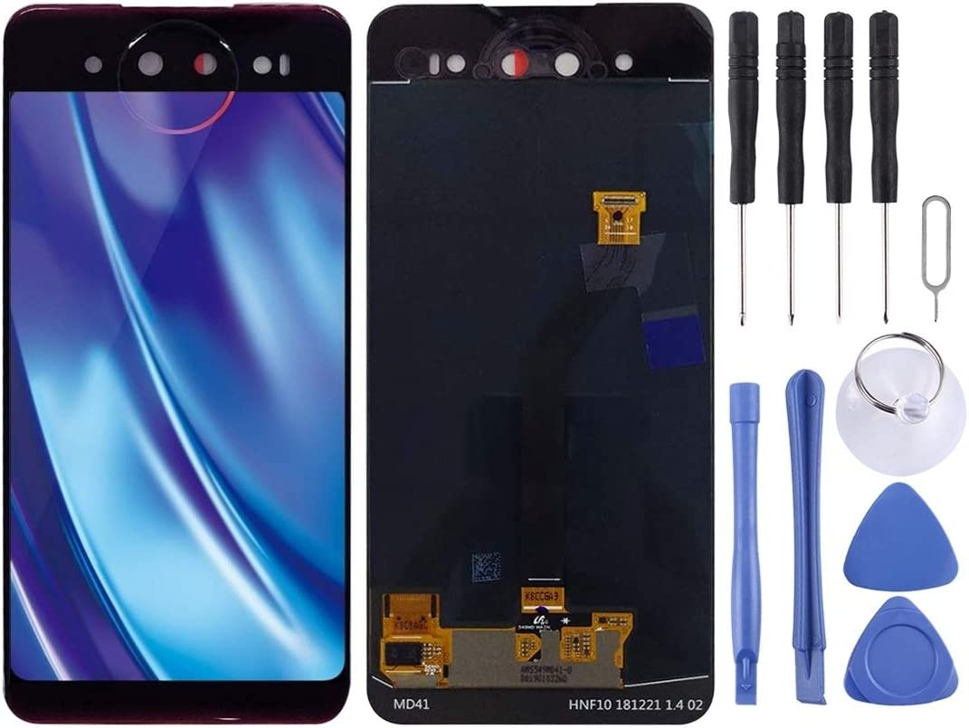 Smartillumi for Back LCD Screen and Digitizer Full Assembly for Vivo NEX Dual Display Replacement Parts Color : Blue Blue
