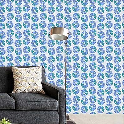 DIY & Tools Artzfolio Geometric Pattern D2 Self-Adhesive Peel & Stick PVC Vinyl Wallpaper 20 X 108Inch; Area 15Sq.Ft