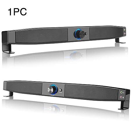 FADDR - Barra de Sonido para PC (inalámbrica, estéreo, 3D ...