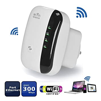 WiFi Repeater 300Mbps Range Extender, Ofspower Wireless Network ...