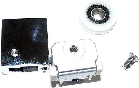 Roca AM99263702-2 Soportes (A) Cortos Rodamiento Recambio - Mampara - Easy: Amazon.es: Bricolaje y herramientas
