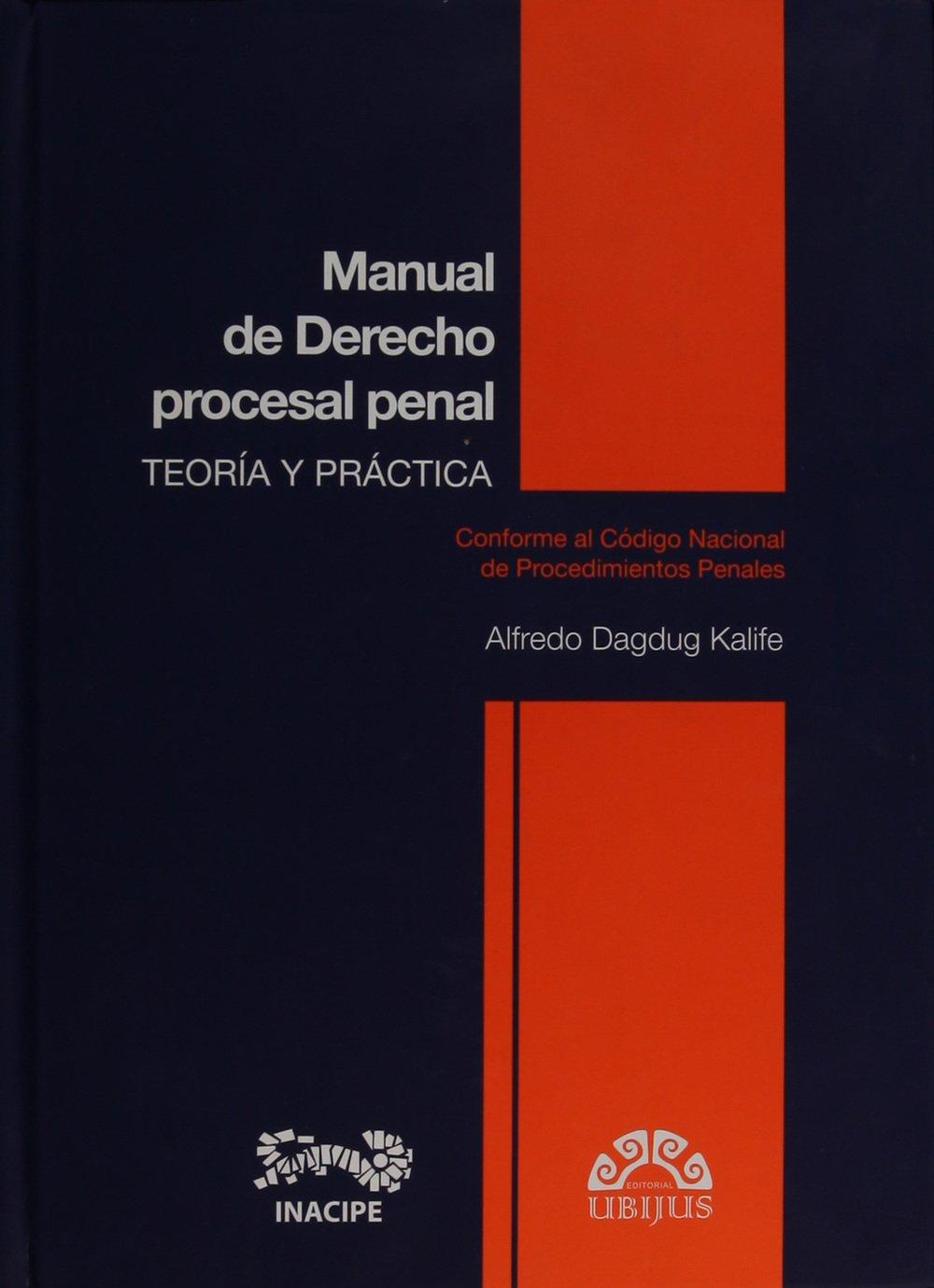Librería dykinson manual de derecho procesal penal gimeno.