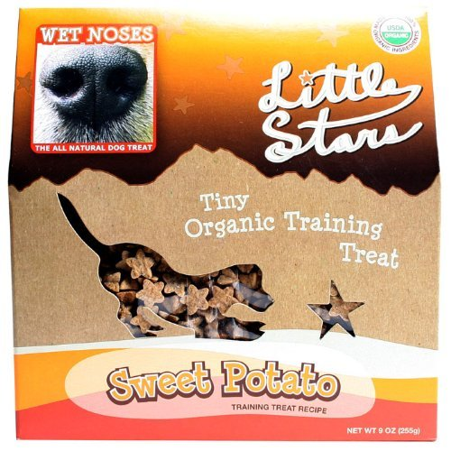 Wet Noses Little Stars Sweet Potato Organic Dog Training Treats, 9-Ounce (Wet Noses Training Treats compare prices)