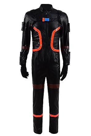 Amazon Com Hot Online Game Dark Voyager Costume Jumpsuit Men