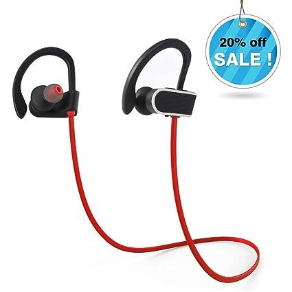 Auriculares Bluetooth Inalámbrico, Headphones Acuaticos IPX7 Resistente al Agua para Deporte Ciclismo Gimnasio Fitness,