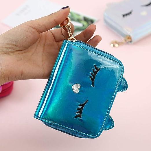 Beladla Monedero Mujer Gato Encantador Moda Mujer Cartera Monederos ImpresióN del Mini Billetera Bolso De Llave Bolso para NiñAs: Amazon.es: Ropa y ...
