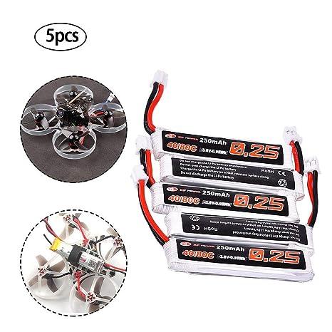 Dron batería de polímero de litio, conector de batería XF 3,8 V ...