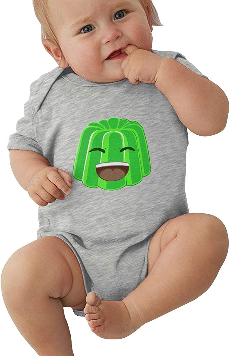 WojiuAA Baby Short Sleeve Jelly Bodysuit Cotton Cute Baby Boys Girl Crawling Suit Creeper//Leotard//Snapsuit
