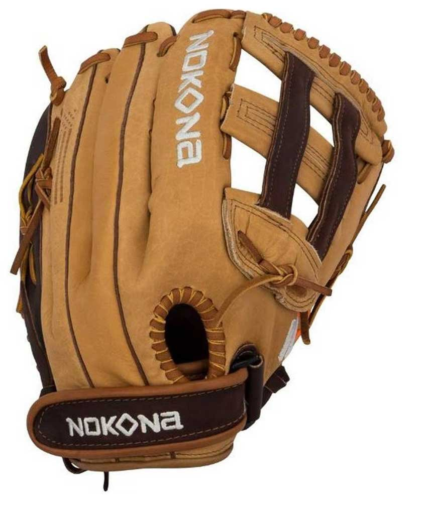 Nokona Alpha H-Web 12.5 Inch S-V1250 Fastpitch Softball Glove