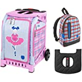 Amazon.com   Zuca Hello Kitty Beach Bum Sport Insert Bag w Purple ... 128323b6d5f02