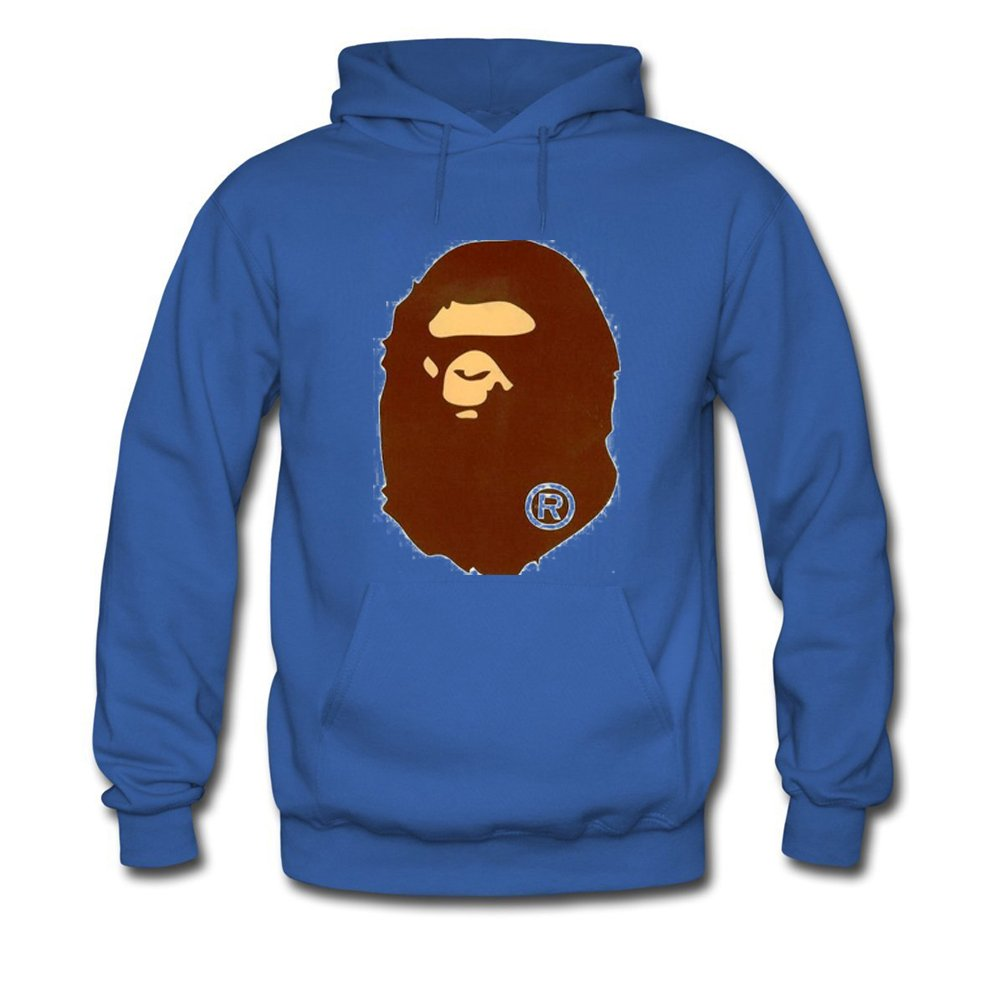 b22f8b23dd73 Bathing Ape Bape Monkey For Mens Hoodies Sweatshirts Pullover Tops   Amazon.ca  Sports   Outdoors