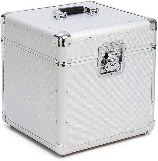 PUCLST Las Cajas Jugador Vinilo de Aluminio de Almacenamiento de ...