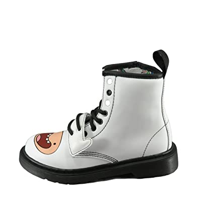 Amazon.com | Dr. Martens Adventure Time Finn D Juniors Boots ...