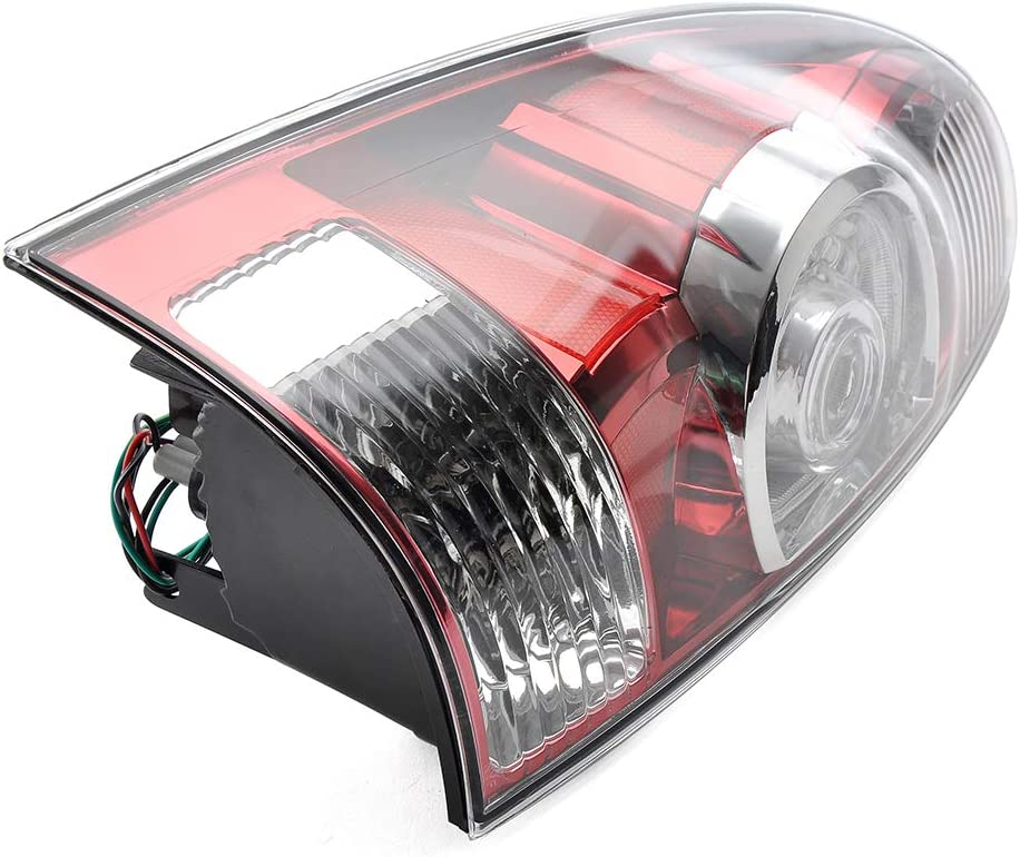 MotorFansClub Rear Tail Brake Light Lamp Assembly Fit for Compatible with Tacoma 2005-2015 Left Side