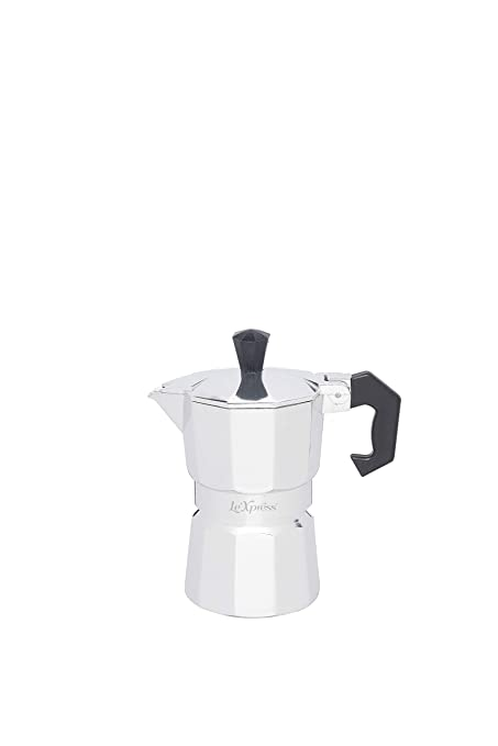 Kitchen Craft LeXpress - Cafetera Italiana (1 Tazas, 40 ml ...