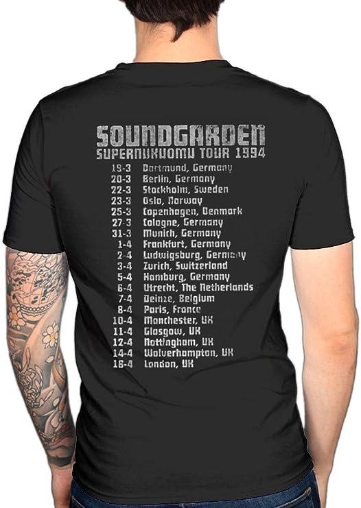 Official Soundgarden Black Hole Sun T-Shirt Unisex Badmotorfinger Music Album To