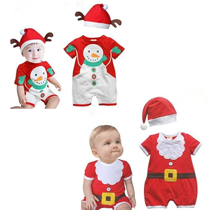 USSOLID Vestidos Comunion Children Christmas Clothing Boys and Girls Christmas Santa Claus Costumes Baby Girls Dress
