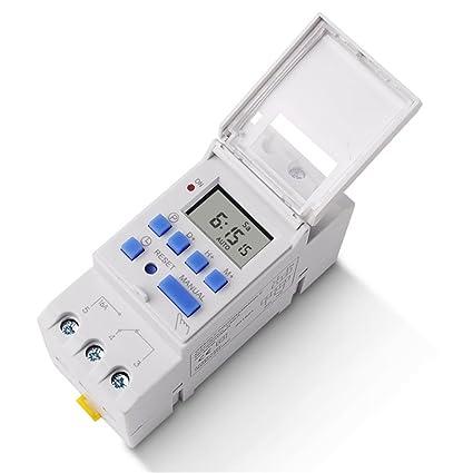 MingChuan Electrónico Semanal 7 Días Temporizador Digital Programable TIEMPO RELÉ Temporizador de Control AC 220V /