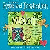 Sellers Publishing 2018 A Year Of Hope & Inspiration - By Deborah Mori Mini Calendar (CS0207)