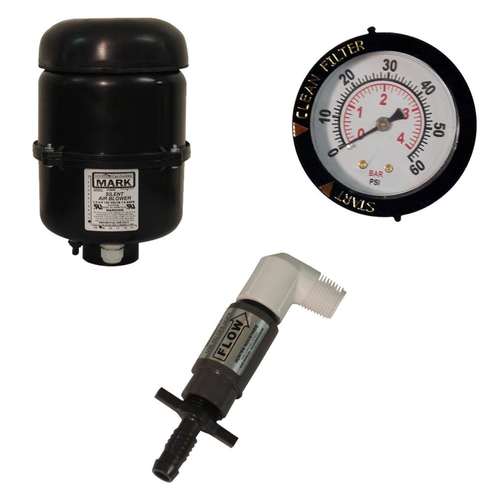 for Ponds to 5,000 Gallons and Fish Loads to 125 LBS AlphaONE GC Tek Bio Media Filter AO2.5