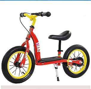 FEIIFE Bicicleta Sin Pedales,Bici De Equilibrio para Niños Freno ...