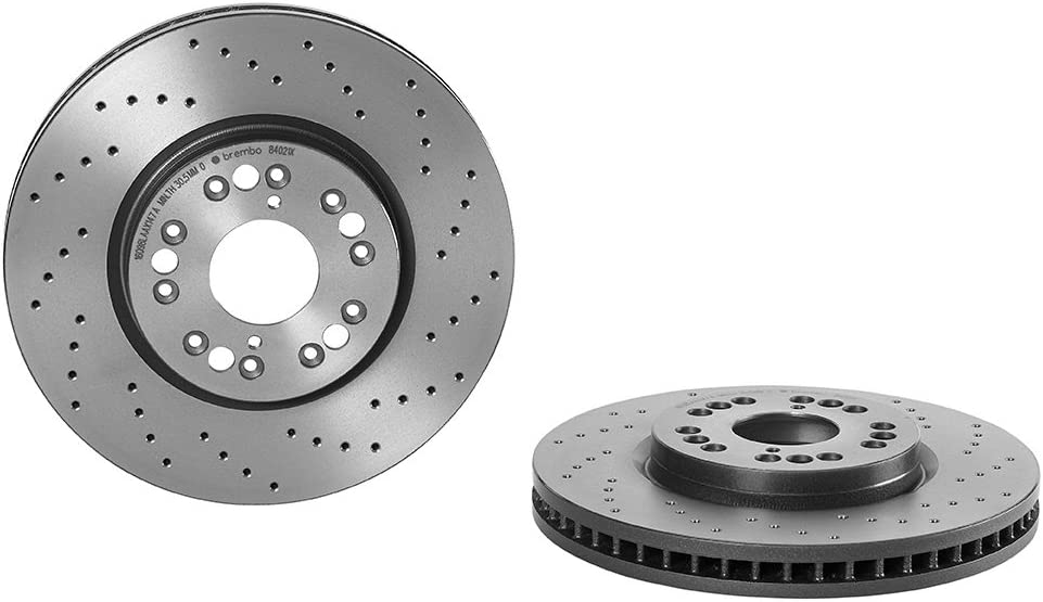 Brembo 09.8402.1X Front Disc Brake Rotor