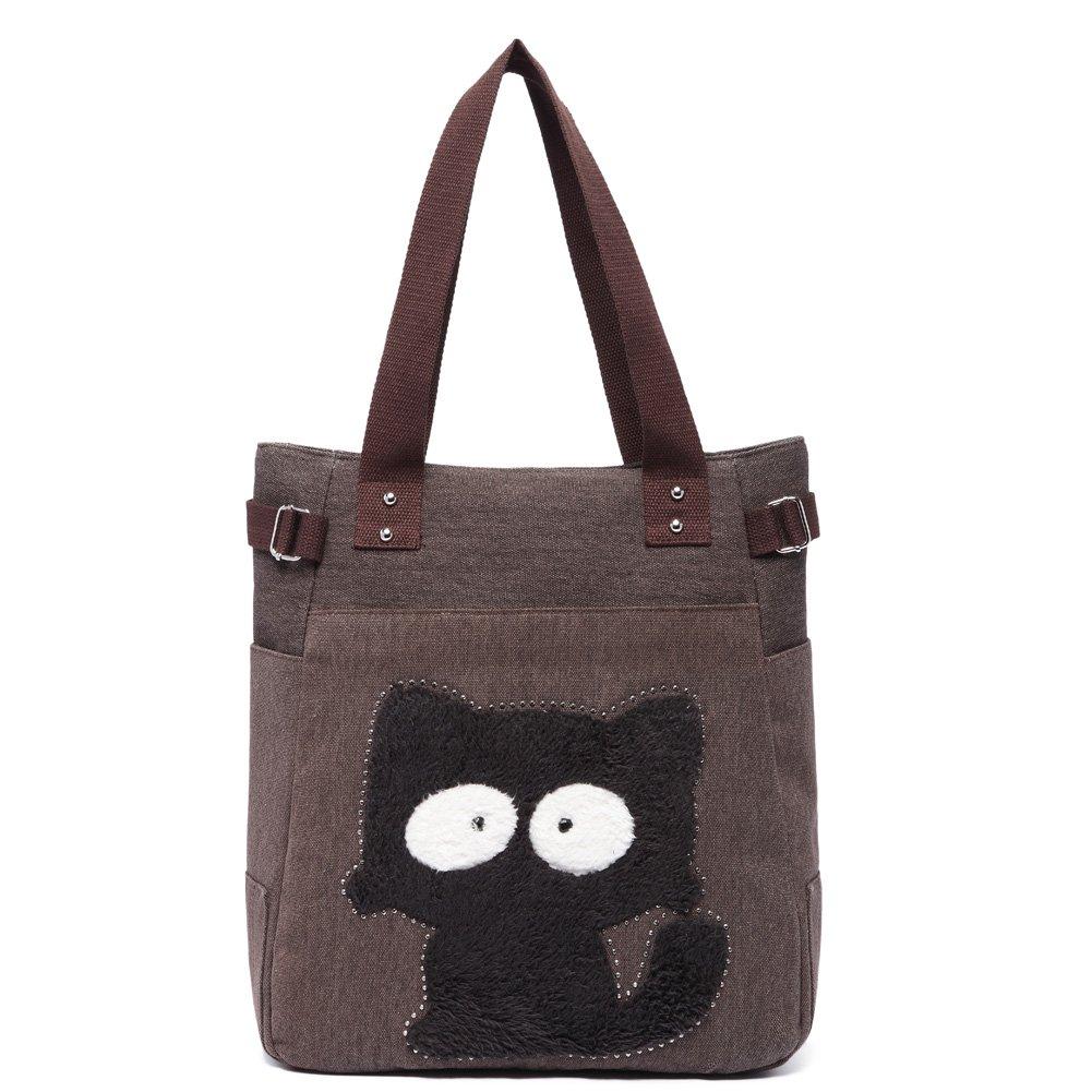 KAUKKO Donne Canvas Handbag Shopping bag GW093-AG