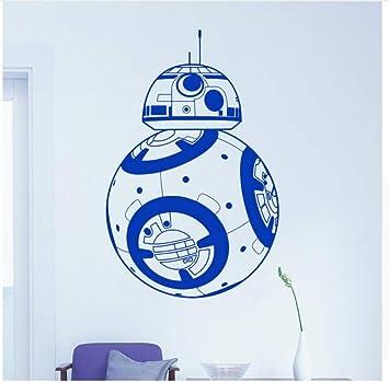 Suuyar Star Wars Bb-8 Robot Vinilo Tatuajes De Pared Decoración ...