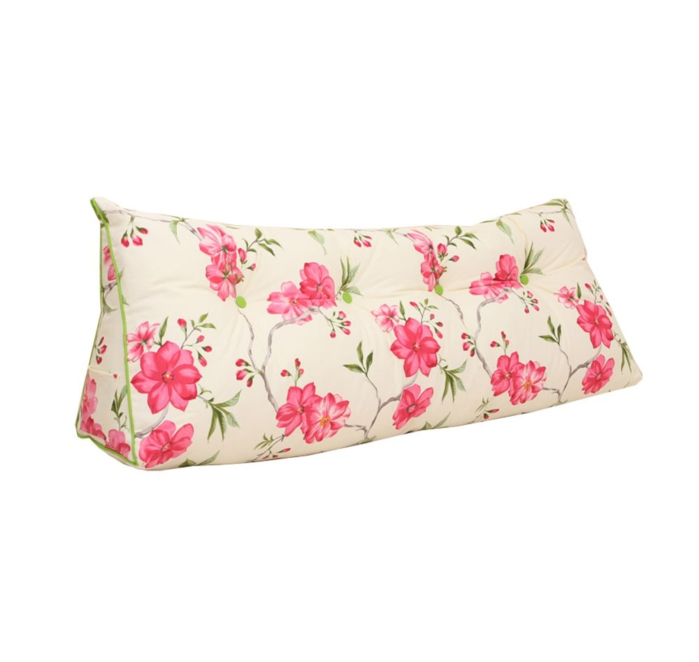 リムーバブルと洗えるファッションベッドサイドクッション三角ダブルラージソファの背もたれ厚いソフトパックベッドの枕腰の枕は、ウエストの枕を保護する (色 : #3, サイズ さいず : 120 * 20 * 50cm) B07DK832T9 120*20*50cm #3 #3 120*20*50cm
