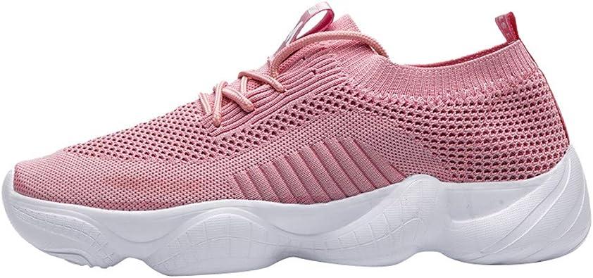 FAMILIZO Zapatillas Mujer Running Zapatillas Deportivas De Mujer Sneakers Women Primavera Zapatos De La Mujer Zapatillas Deportivas Livianas Calzado Deportivo De Running Ligero: Amazon.es: Zapatos y complementos