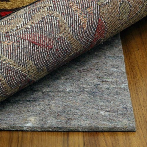 12' x 15' Natural Step 1/4'' Thick Non-Slip Rug Pad - Safe for all floors by Rug Pad Warehouse