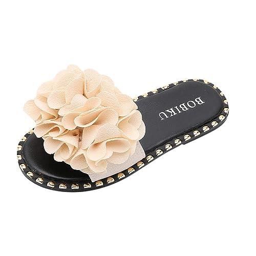 timeless design 97a24 dd2ea Pantofole da Bambina con Fiori, Eleganti Sandali per Estate ...