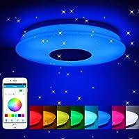 WXJZ Luces de Techo, Bluetooth LED Lámpara