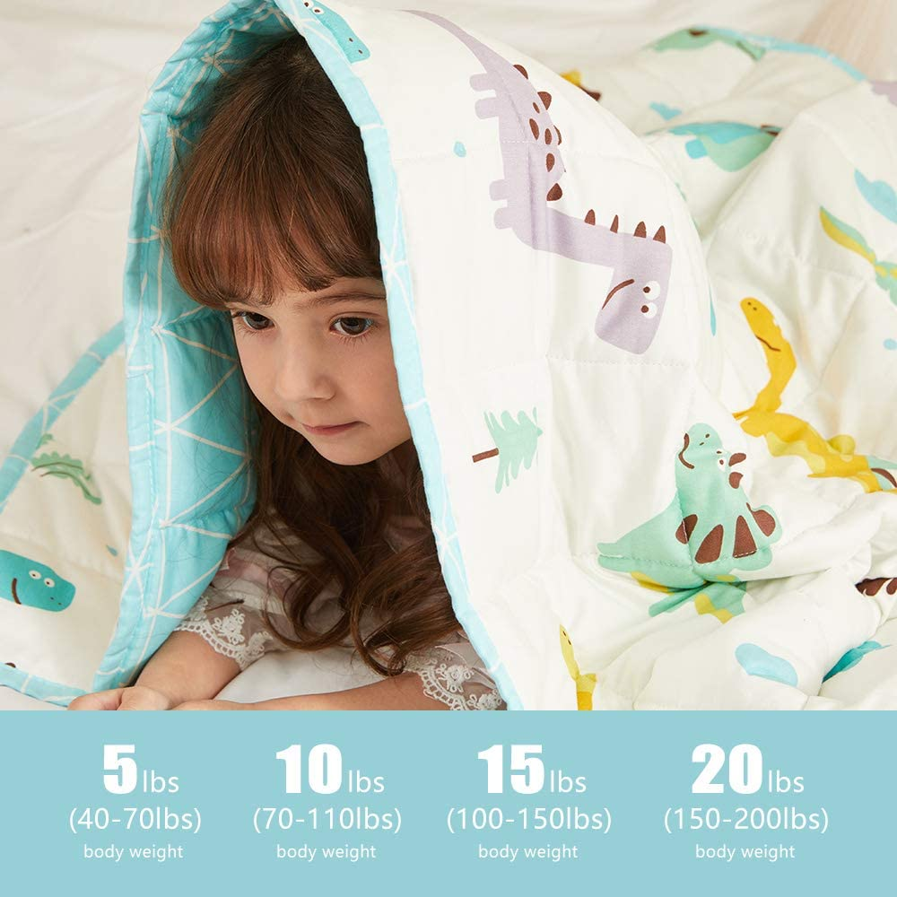 Hiseeme Weighted Blanket for Kids