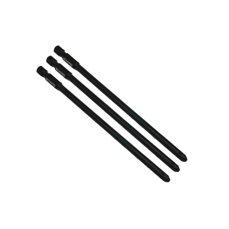 Makita 3 SabreCut sc141pz2, 141 mm PZ2 6834 p-66282 Autofeed magazinierte Schnellbauschraube, Schraubendreher-Bit, 1 Stü ck, Pozi Nr. 2, robust TopsTools