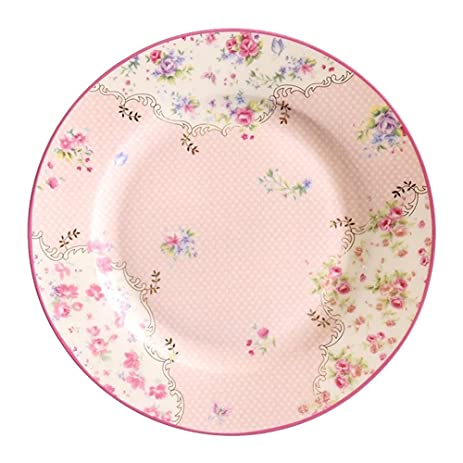 HOME AID Lightweight 8-Inch Bone China Floral Dessert Salad Plates Bread and Butter  sc 1 st  Amazon.com & Amazon.com   HOME AID Lightweight 8-Inch Bone China Floral Dessert ...