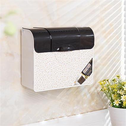 Jack Mall Cuarto de baño WC de plástico caja de papel caja de papel higiénico Toalla