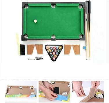 LCRACK Mesa Multifuncional Combo Sport Machine 2 En 1 Operación Fácil Portátil Mini Mesa (Color : Football+Billiards): Amazon.es: Hogar