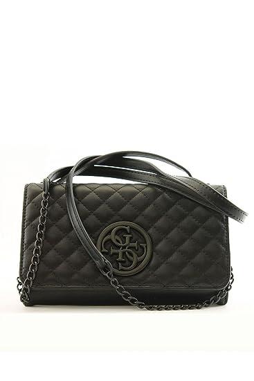 0c337a3190ff Guess Clutch Mini Wallet G Lux HWVB6623790 Black: Amazon.co.uk: Clothing